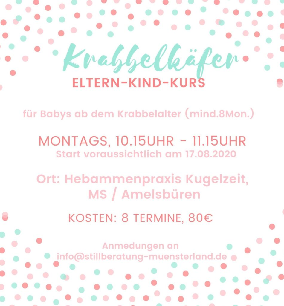 Babykurs Spielkurs Eltern Kind Kurs Münster Amelsbüren