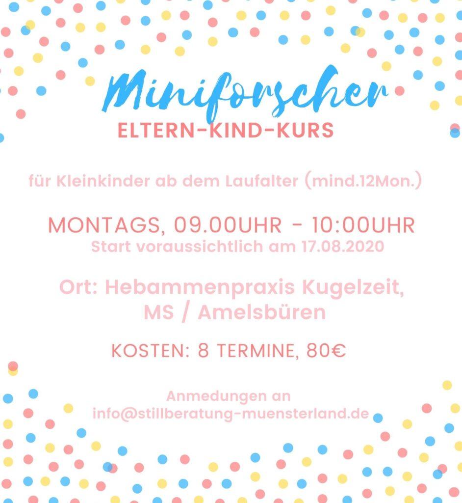 Eltern Kind Kurs Kleinkindkurs Münster Amelsbüren